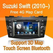Car Stereo DVD Player GPS Navigation Bluetooth  Radio USB for Suzuki Swift 2010-