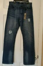 NWT $79 Men's RD Raw Diamond Stonewash/Distressed Slim Fit JEANS 36 x 30