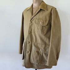 VINTAGE ORIGINAL JC HIGGINS SEARS ROEBUCK HUNTING JACKET 1940's 1950's SIZE XL