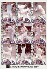 1998/99 Select Cricket Retail Trading Cards World Class Full Set (12)-Rare