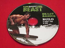 BODY BEAST - Beast Basics + BUILD: Chest + Tri's + Legs - New Fitness DVD *