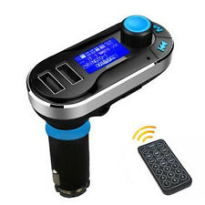 Dual USB Car Charger AUX FM Transmitter MP3 Music Player For iPhone Samsung MOTO