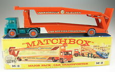 MATCHBOX Major Pack M-8 - Guy Warrior Car Transporter Autotransporter in OVP BOX