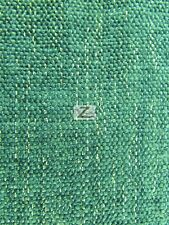 "SPARKLE CHENILLE UPHOLSTERY FABRIC - Turquoise - 57"" WIDTH SOLD BY THE YARD"