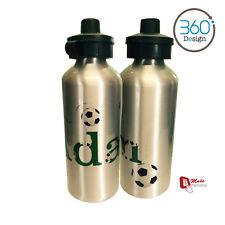 Diseño De Fútbol Personalizado Niños/Bebidas/Para Niños Botella De Agua-cualquier nombre