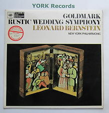 61069 - GOLDMARK - Rustic Wedding Symphony BERNSTEIN New York PO - Ex LP Record