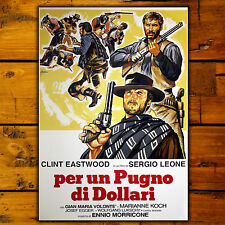 Movie Poster Per Un Pugno Di Dollari - 70x100 CM