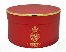 Christys Standard Red Hat Box travel/storage