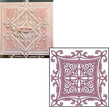 Creative Expressions Sue Wilson Frames & Tags Collection Heraldic Square Die Set