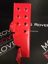 MGF / MG TF FOOTREST POWDER COATED RED.