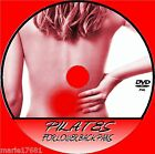 PILATES FOR LOWER BACK PAIN VIDEO DVD HELP FOR MILD & CHRONIC ACHE STIFFNESS NEW