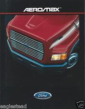 Truck Brochure - Ford - AeroMax LA / LTA-9000 - c1987 (T1238)