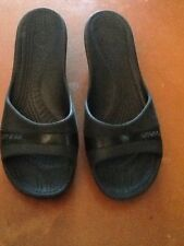 Crocs Women's Wedges Sandals Size 12 Brown