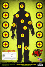 ZOMBIE APOCALYPSE TRAINING PAPER TARGETS: SURVIVAL SERIES 101: 30 Pack