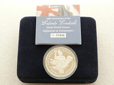 2004 Royal Mint Entente Cordiale £5 Five Pound Silver Proof Coin Box Coa