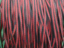 Qualità Nero & Rosso Boot Lacci 90 cm 5 COPPIA lotti