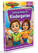 ROCK n LEARN - Getting Ready for Kindergarten -  Educational DVD - (NEW)