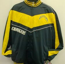 San Diego Chargers NFL Track Jacket - Adult Medium - Free Shipping