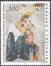 Andorra 1990 Church Art/Frescoes/Paintings/Heritage/Religion/History 1v (n42882)