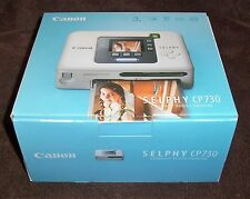 Cannon Selphy CP730 Compact Photo Printer New Open Box Item
