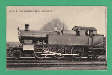 GREAT  WESTERN  RAILWAY  POSTCARD -  NEW  SUBURBAN  TANK  LOCOMOTIVE  -  C 1905
