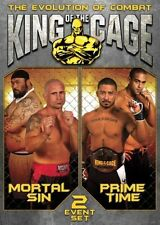 DVD - Sports - The Evolution of Combat: King of the Cage - Mortal Sin/Prime Time