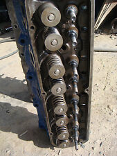 ORIGINAL  FORD MUSTANG 289 HEADS CYLINDER HEADS C5AE FASTBACK SCREW IN STUDS