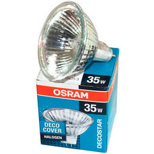 OSRAM 44892 DECOSTAR 35 35W 12V 36° GU4 BI PIN HALOGEN BULB MR11 WITH UV FILTER
