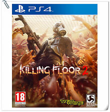PS4 Killing Floor 2 SONY PLAYSTATION Bethesda Shooting Game