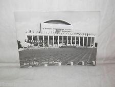 Vecchia cartolina foto d epoca di Roma palazzo dei congressi EUR piazza scorcio