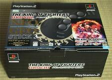 Neo Geo Stick KOF Orochi Limited Edition PS2 Japan Import NEW SLPS-25535