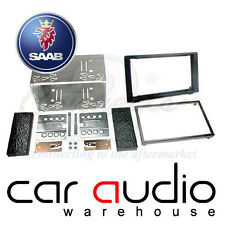 Connects2 CT23SA03 Saab 9-3 2006 On Car Stereo Double Din Fascia Facia Panel