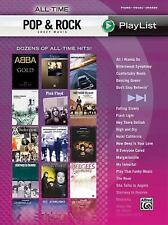 All-Time Pop & Rock Sheet Music Playlist Dozens Of All-Time Hits Piano/Vocal/Cho