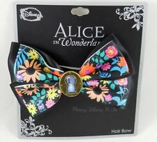 New Disney Alice In Wonderland Keyhole Charm Cosplay Costume Hair Bow Clip
