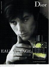 PUBLICITE ADVERTISING 106  2012  Eau Sauvage parfum Dior & Alain Delon