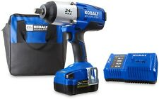 New 24-Volt 1/2-Inch Drive Cordless Impact Wrench High Torque 24v Tool Kit
