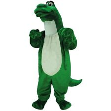 Cartoon Dino Professional Quality Mascot Costume Adult Size