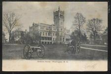 POSTCARD WASHINGTON DC SOLDIERS HOME WITH CIVIL WAR CANNONS 1906