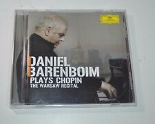 Daniel Barenboim Plays Chopin The Warsaw Recital CD