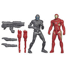Avengers Age Of Ultron Hasbro Iron Man Mark Vs Sub-Ultron 010 Fun For Kids New