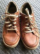 Cushe Men's Shoes 8 Leather Lace Up SHUMAKERS MARK Tan Brown Casual