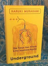 Haruki Murakami - Underground - First Edition 1st /1st  Hbk Dw 2000