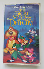The Adventures of the Great Mouse Detective (VHS, 1992) Black Diamond Classic