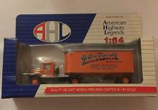 AHL Yellow Transit Co. Mack BM Truck 1:64 Scale Diecast ,NEW