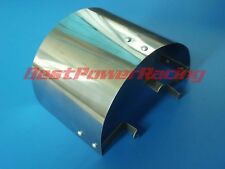"Universal Stainless Steel Air Filter Heat Shield For 2.25"" TO 3.5"" Cone Filter"