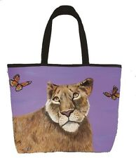 Lioness Handbag, Tote Bag - From My Painting, Curiosity
