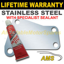 VAUXHALL ASTRA VECTRA MERIVA ZAFIRA EGR BLANK PLATE 1.5MM STAINLESS NZ SEALANT