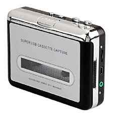 USB Audio Cassette Tape Capture Converter to MP3 CD Player PC (Silver)