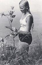 WW2 Photo Beatiful member of Bund Deutscher Madel Young women League 636