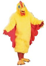 Chicken Suit Costume Mascot Funny Adult Comical Deluxe Humorous Rooster Chick